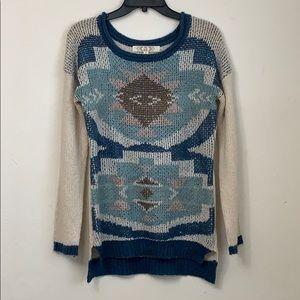 Aztec Pattern 100% Acrylic Sweater